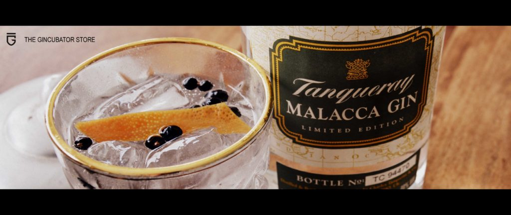 De Zon in het Glas met ons Tanqueray Malacca – Limited Edition – Gin & Tonic Recept